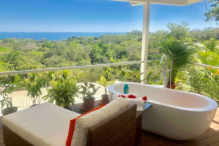 Chez Mu Luxury Ocean/Jungle View Villa - Montezuma