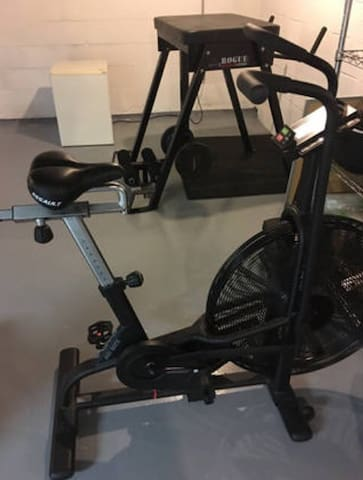 Also, if you are a traveling CrossFit member you won't have to miss a WOD with our Assault bike in the basement or free drop-ins at CrossFit Nittany!