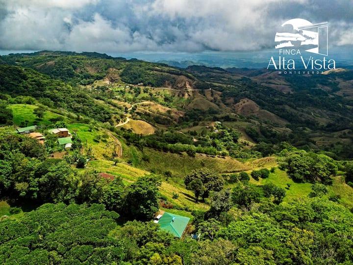 Casa de campo #2 en Finca Alta Vista, Monteverde