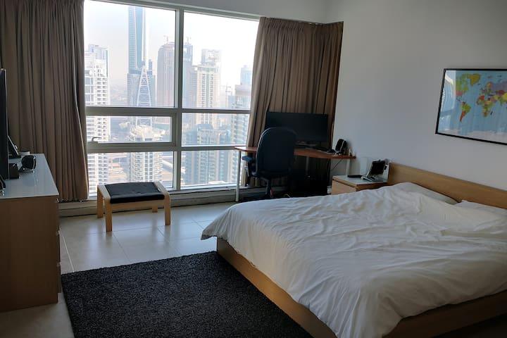 Master double room in Dubai Marina,  near to beach
