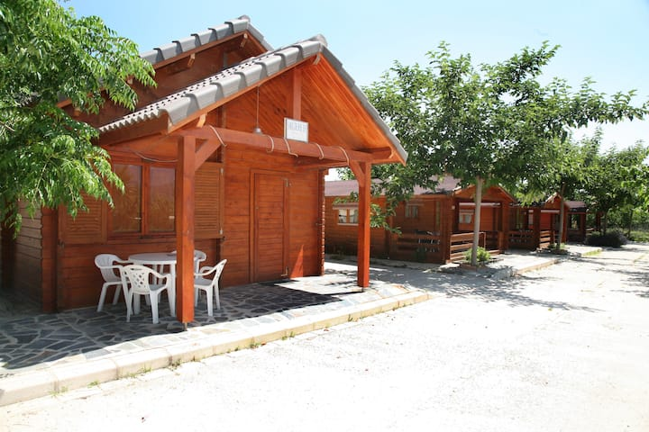 CABAÑA CON PISCINA+WIFI+PARKING+PLENA NATURALEZ
