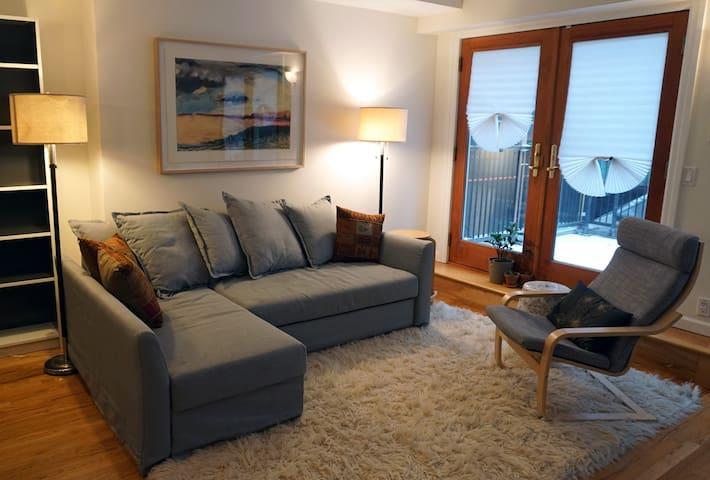 2 bedroom floor-thru in heart of Park Slope -