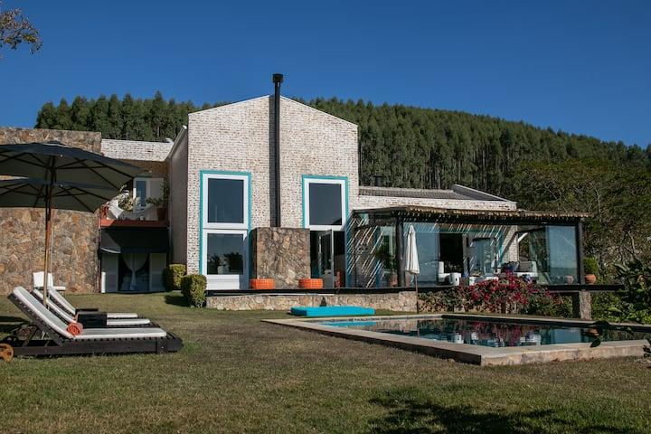 Suite Arpoador na represa de Piracaia.