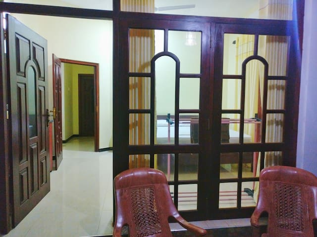 Deluxe apartment with 2 A/C Rooms in bentota