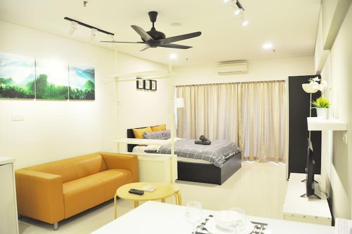 [B09]Cozy&Stylish Studio,12min to KLCC 7min to LRT