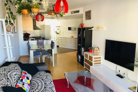 ★ Sunny and cute flat with garage and patio
