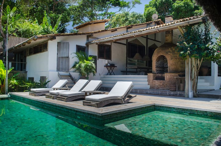 luxury tropical house in Trancoso - Trancoso - Hus