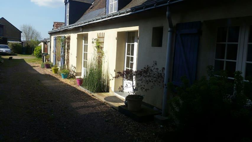Longère typique tourangelle - Sonzay - Appartement
