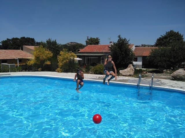 « Le Grazie » Maison de vacances avec piscine