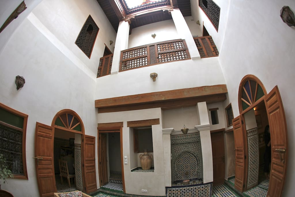 Room in a lovely medina house guesthouses for rent in for Airbnb fez