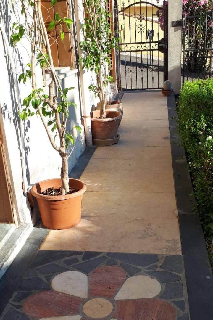 Casa vacanza con giardino