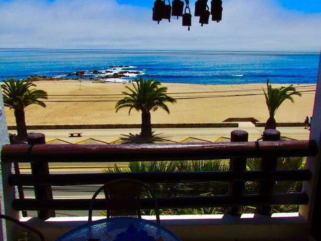 Hermoso depto frente al Pacífico - El Quisco - El Quisco - Apartament
