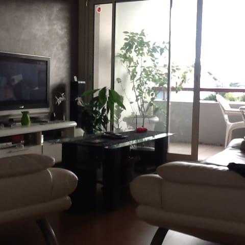 Bel appartement ensoleillé - Bassussarry - Apartamento