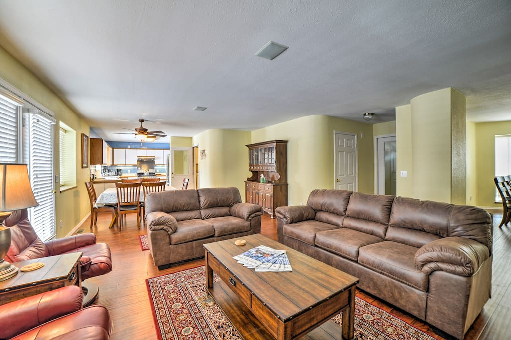 You'll love the open layout of this home.