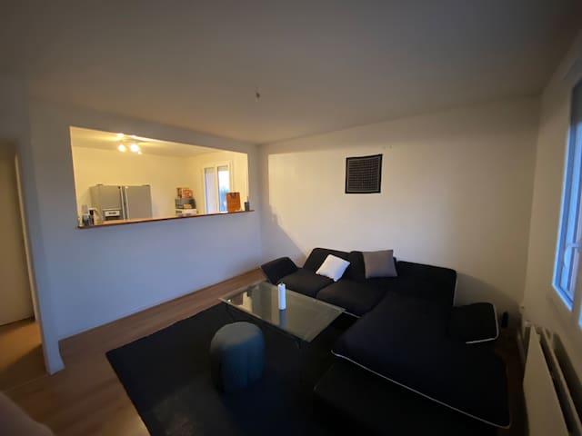 Appartement 46m2, proche du centre ville