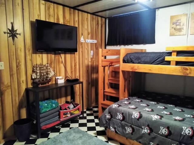 bedroom #3/ downstairs