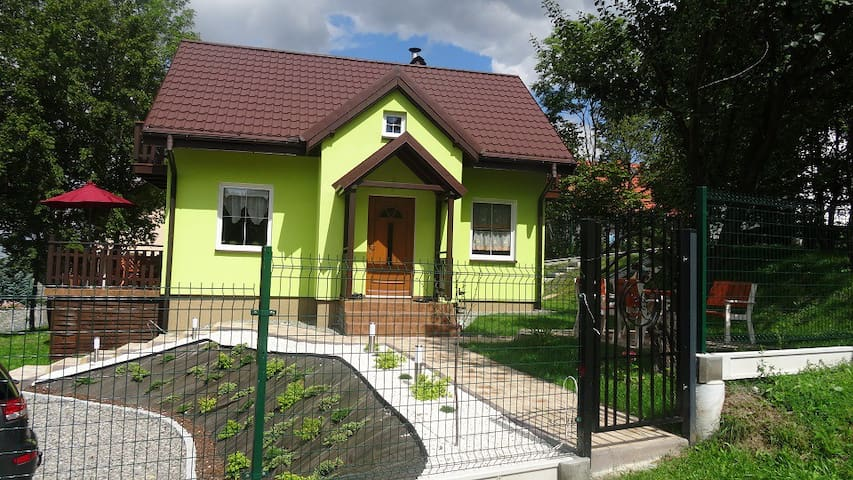 New,cosy house in mountain scenery close to Cracow - Porąbka - Rumah