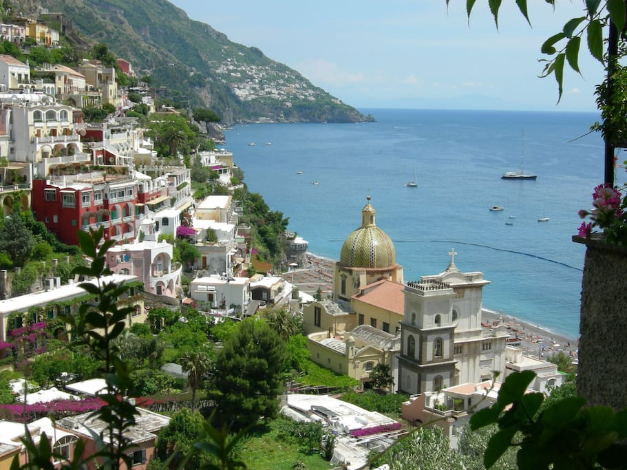 Positano  sea view