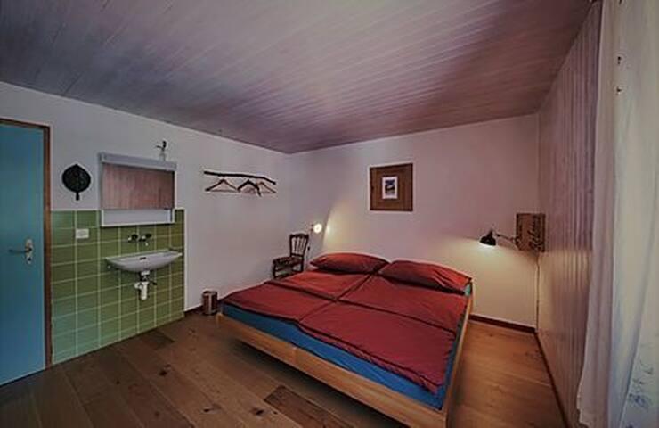 Älpler Doppelbett Zimmer