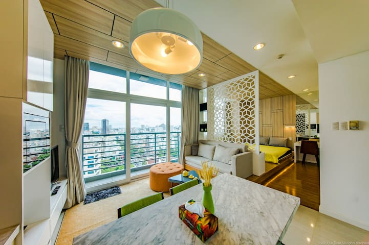 Ben Thanh Sky View 1BR Apartment