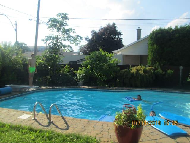 Studio avec piscine - Canard 2 -