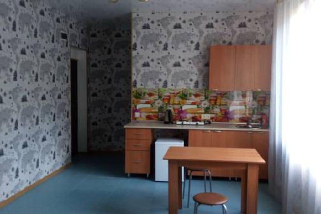 1-я комната, кухня