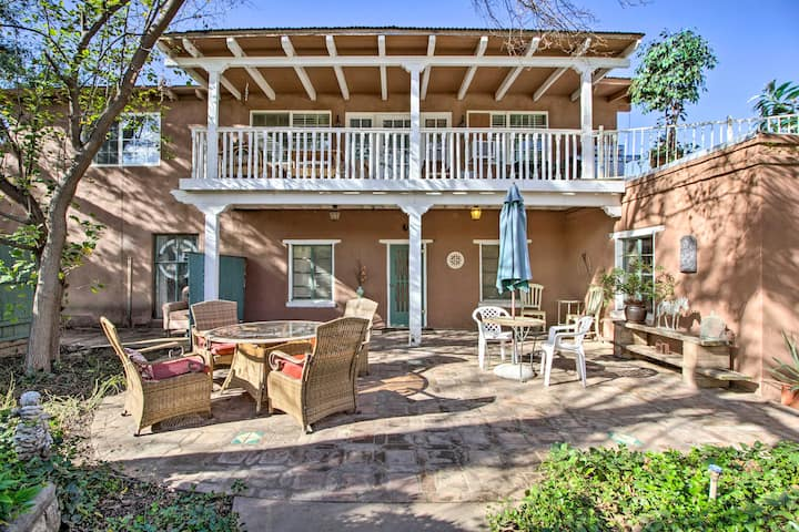 Rustic Southwestern Hacienda on Equestrian Estate!