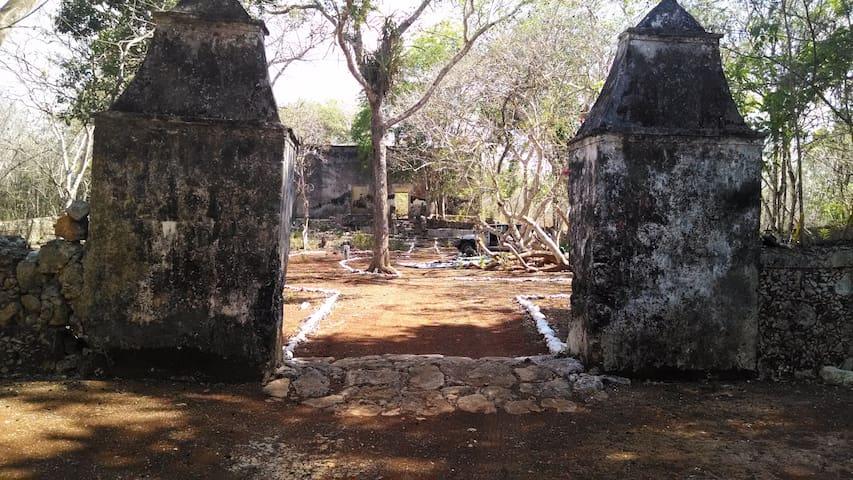 Abandoned Yucatecan Hacienda for Camping