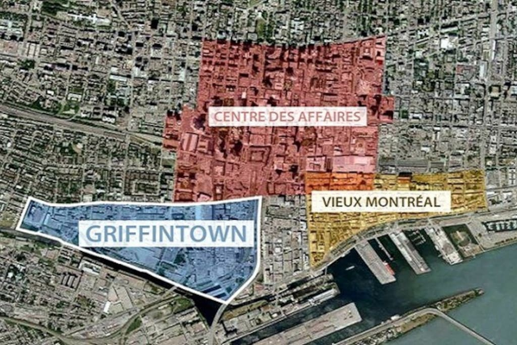 Emplacement idéal . A Griffin Town