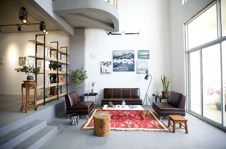 山与空间 -loft-影棚-休闲吧 - 南宁 - Apartment