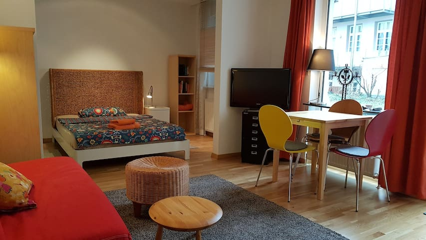 1 1/2 room apartment with terrace - Fürth - Apartment