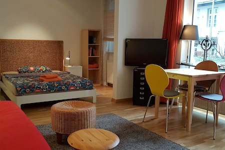 1 1/2 room apartment with terrace - Fürth - Appartement
