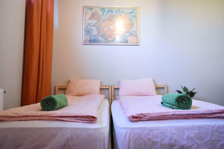 Private Twin  Room *Vibrant Hostel*