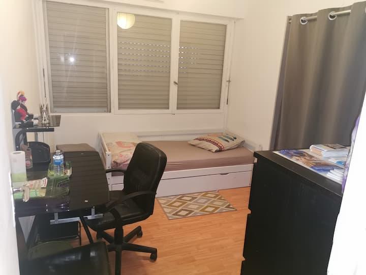 Jolie chambre privée