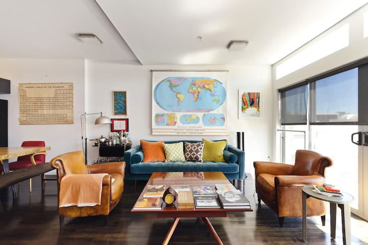 Bike to Venice from a Hip, Eclectic Condo