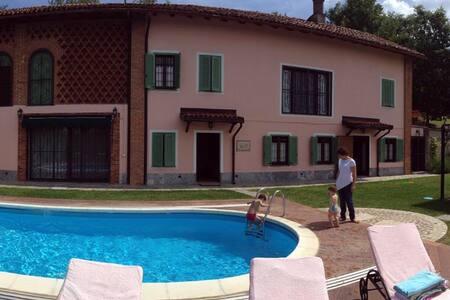 Luxury Country Property Monferrato Villa Carlotta - Viarigi