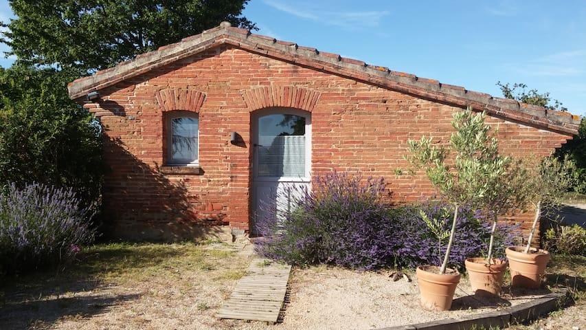 Ermitage sur les coteaux du Lauragais, Toulouse - Baziège - Casa