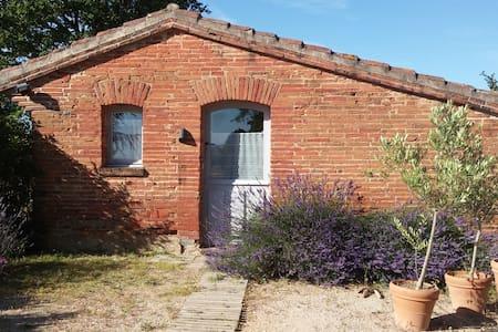 Ermitage sur les coteaux du Lauragais, Toulouse - Baziège - Σπίτι