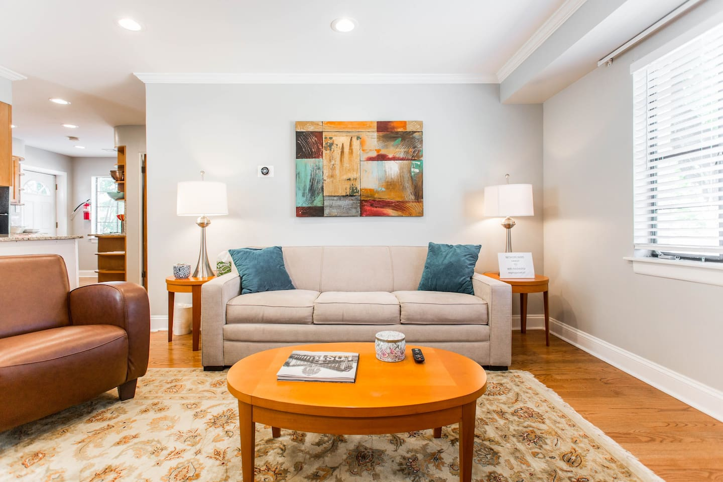 This sunny 1 bedroom walk up is perfect for singles, couples, small groups and business travelers.