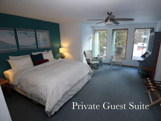 Tahoe Retreat - Private Guest Suite