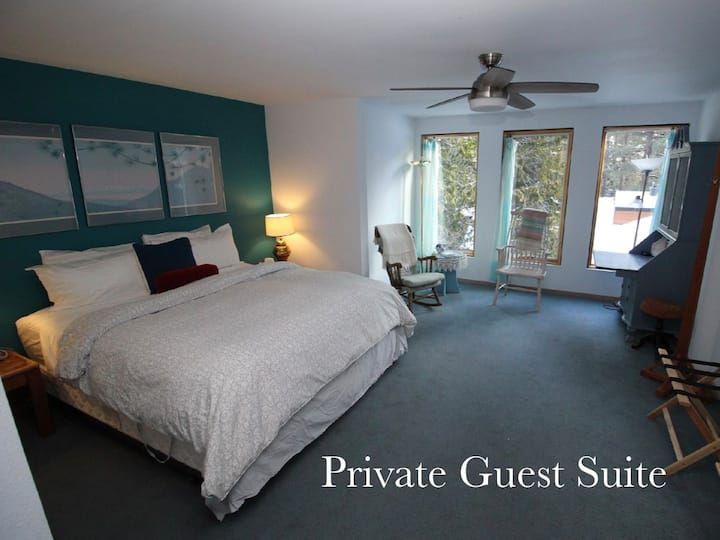 Tahoe Retreat - Private Guest Suite