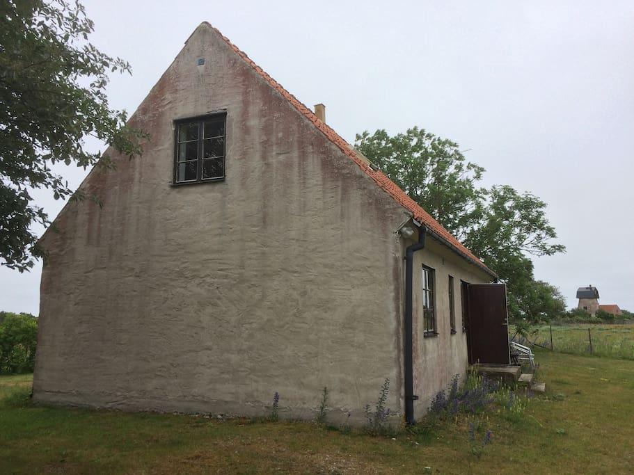 Huset från väster