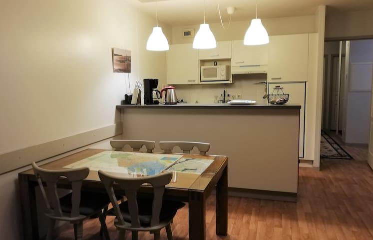 Bel appartement avec garage privé