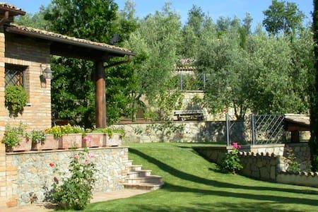 Superior suite con camino e vasca idromassaggio - Monteleone D'orvieto - Wohnung