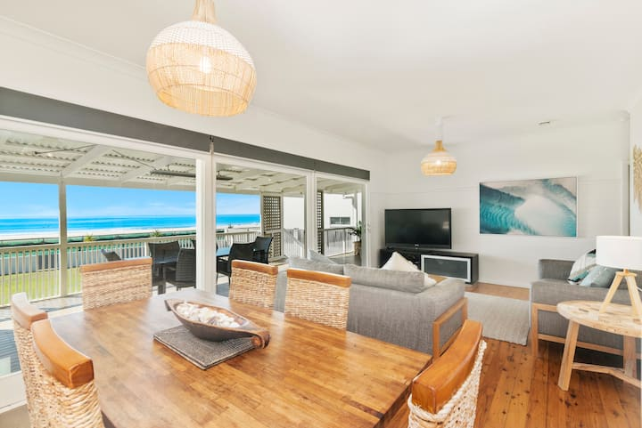 Gold Coast Beach Front House