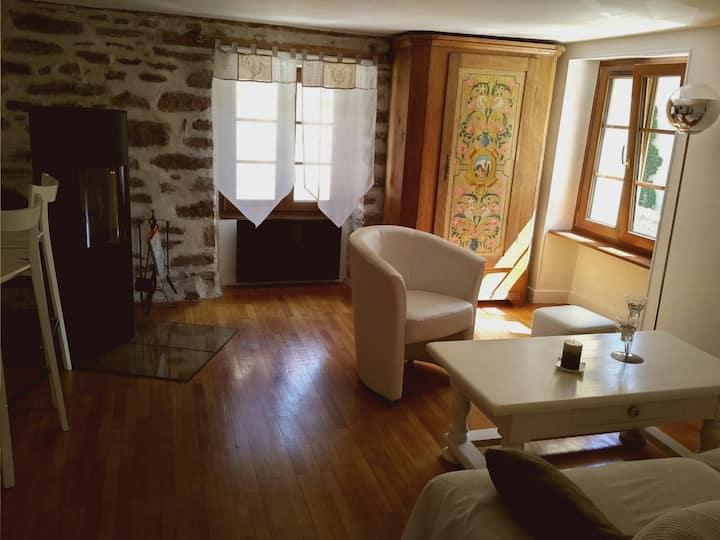Meublé de tourisme dans maison alsacienne