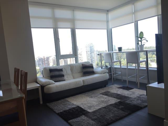 Modern Metrotown 1BR Suite - Burnaby - Lejlighedskompleks