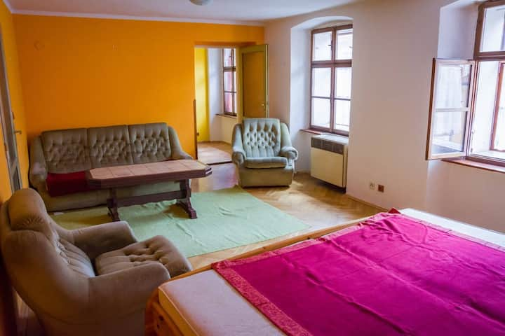 Charming apartment in Cheb