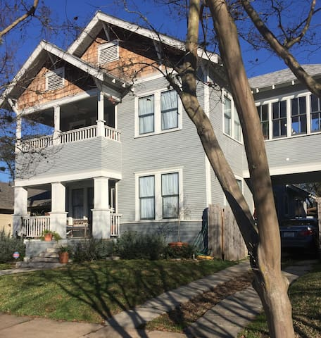Updated historic home: near downtown & metro rail