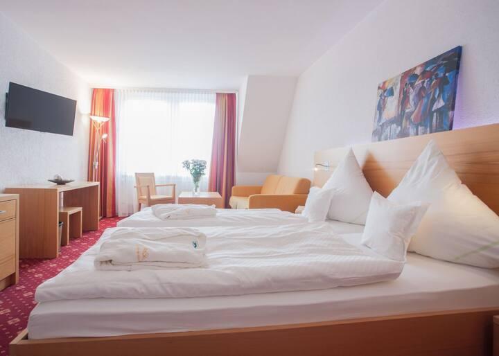 Hotel Hessenhof (Winterberg/Stadt) -, Doppelzimmer Komfort mit kostenfreiem WLAN